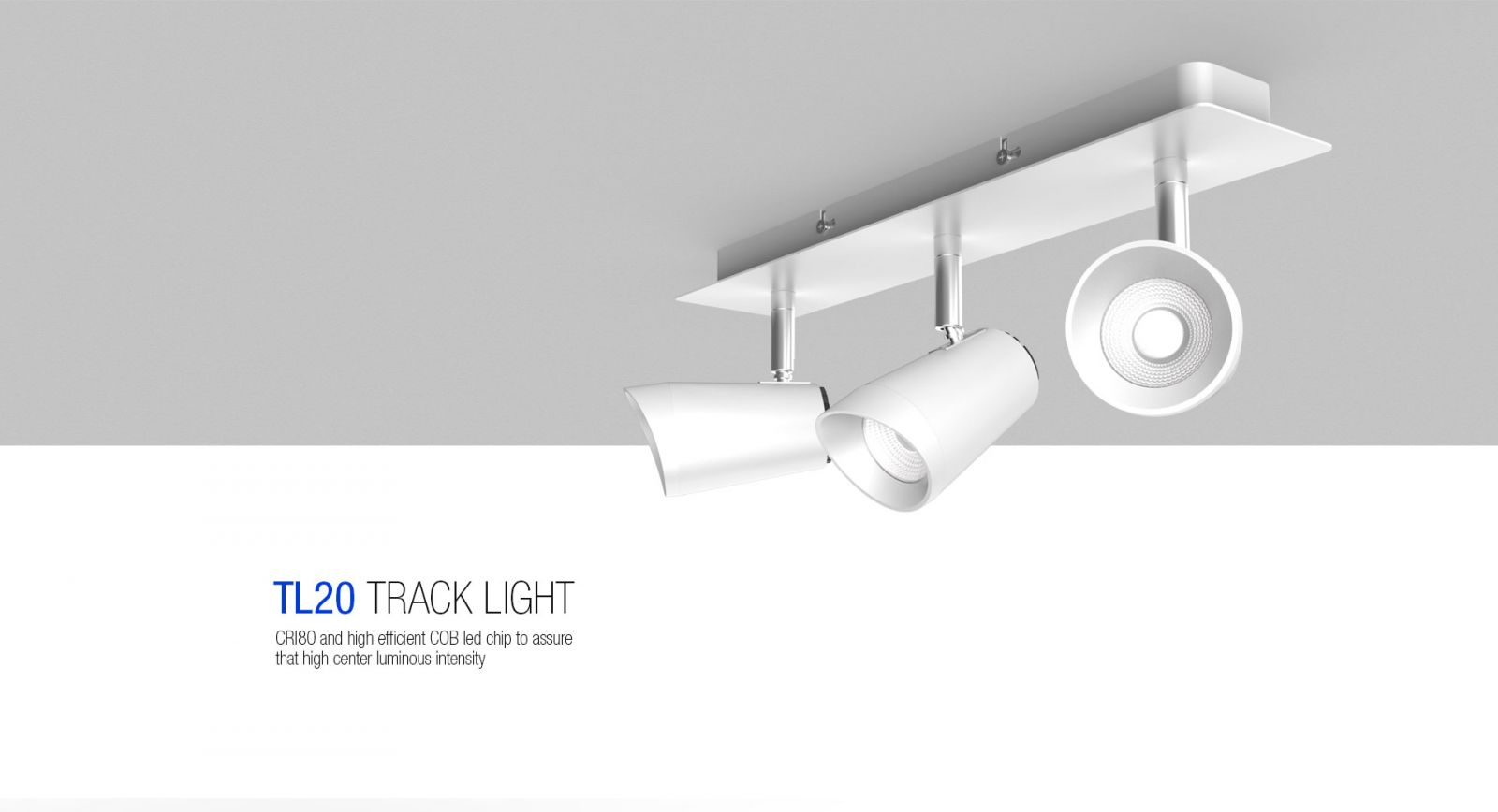 TL20 LED TRACK LIGHT