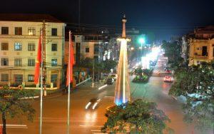 Hệ thống chiếu sáng đô thị của Thành phố Uông Bí sẽ sử dụng đèn LED tiết kiệm điện - Ảnh: Minh Phương.