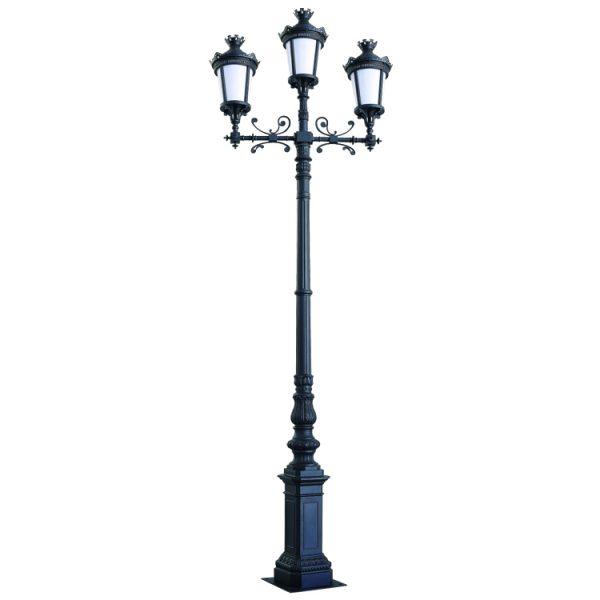 Trụ đèn sân vườn NTP-1001-3