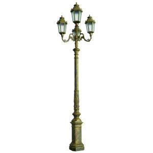 Trụ Đèn Chiếu Sáng Sân Vườn NTP-1004-3