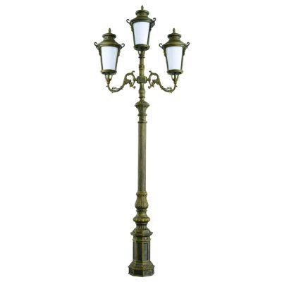 Trụ Đèn Chiếu Sáng Sân Vườn NTP-1005-3