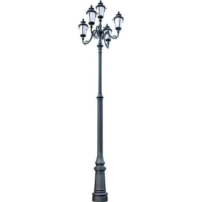 Trụ Đèn Chiếu Sáng Sân Vườn NTP-11013