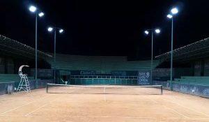 Đèn LED chiếu sân vận động