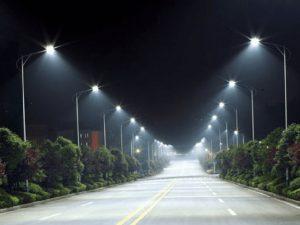Lắp đặt hệ thống chiếu sáng đường giao thông