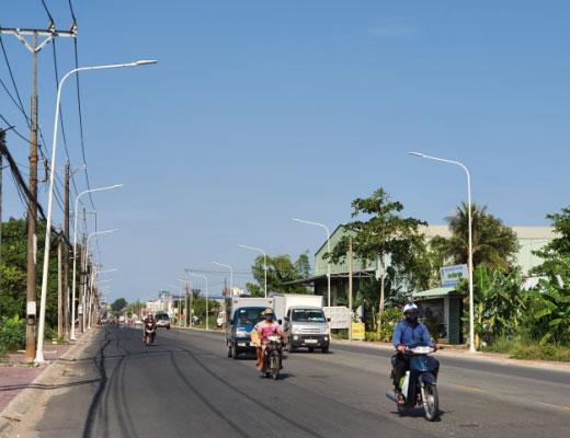 Thông tin dự án: Đường Nguyễn Sinh Sắc